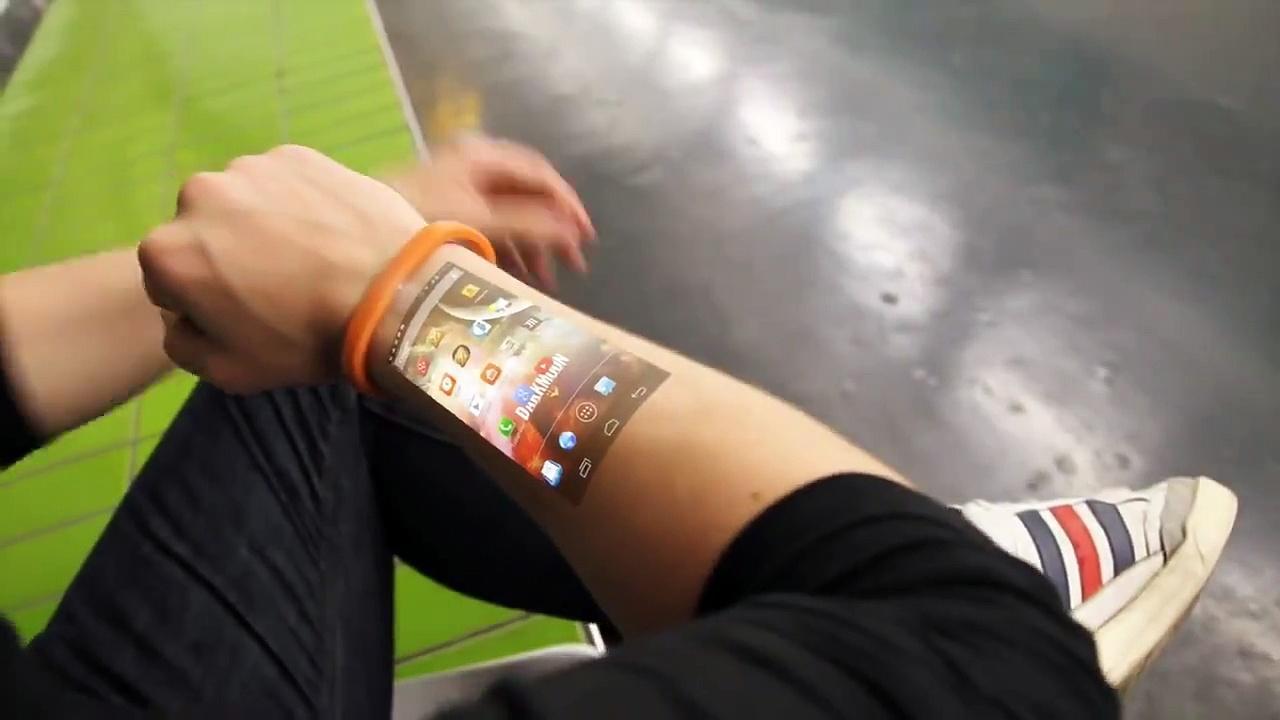 O Futuro do Smartphone: da Holografia à sua Pele