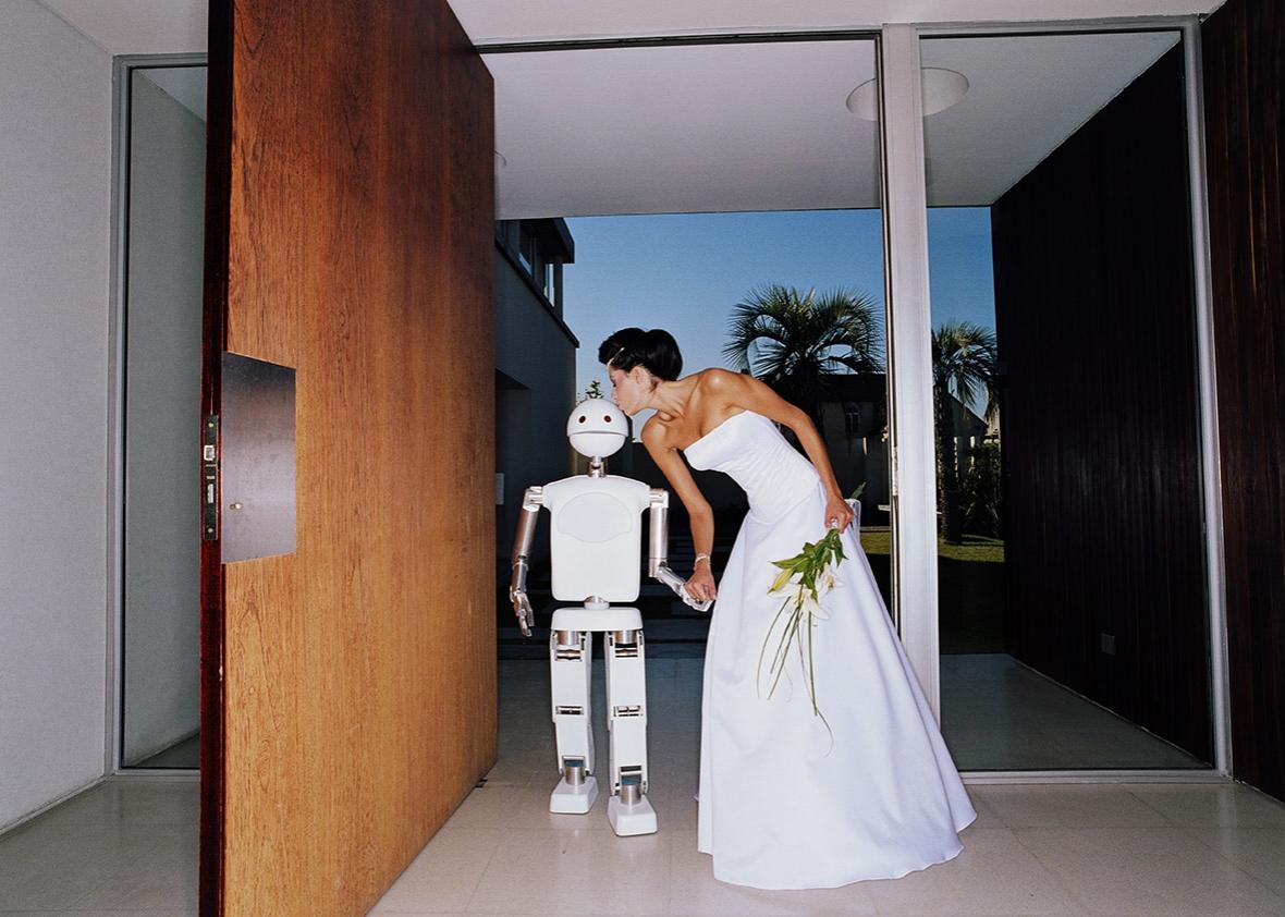 Humanos poderão casar com robôs?