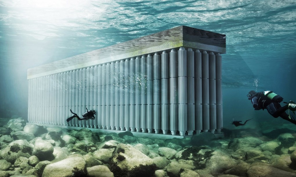 Gigante Parthenon irá converter as ondas do mar em energia renovável