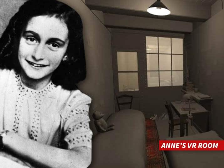 A história de Anne Frank em Realidade Virtual