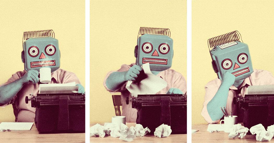Robôs escritores já são gratuitos e podem facilitar o trabalho dos humanos