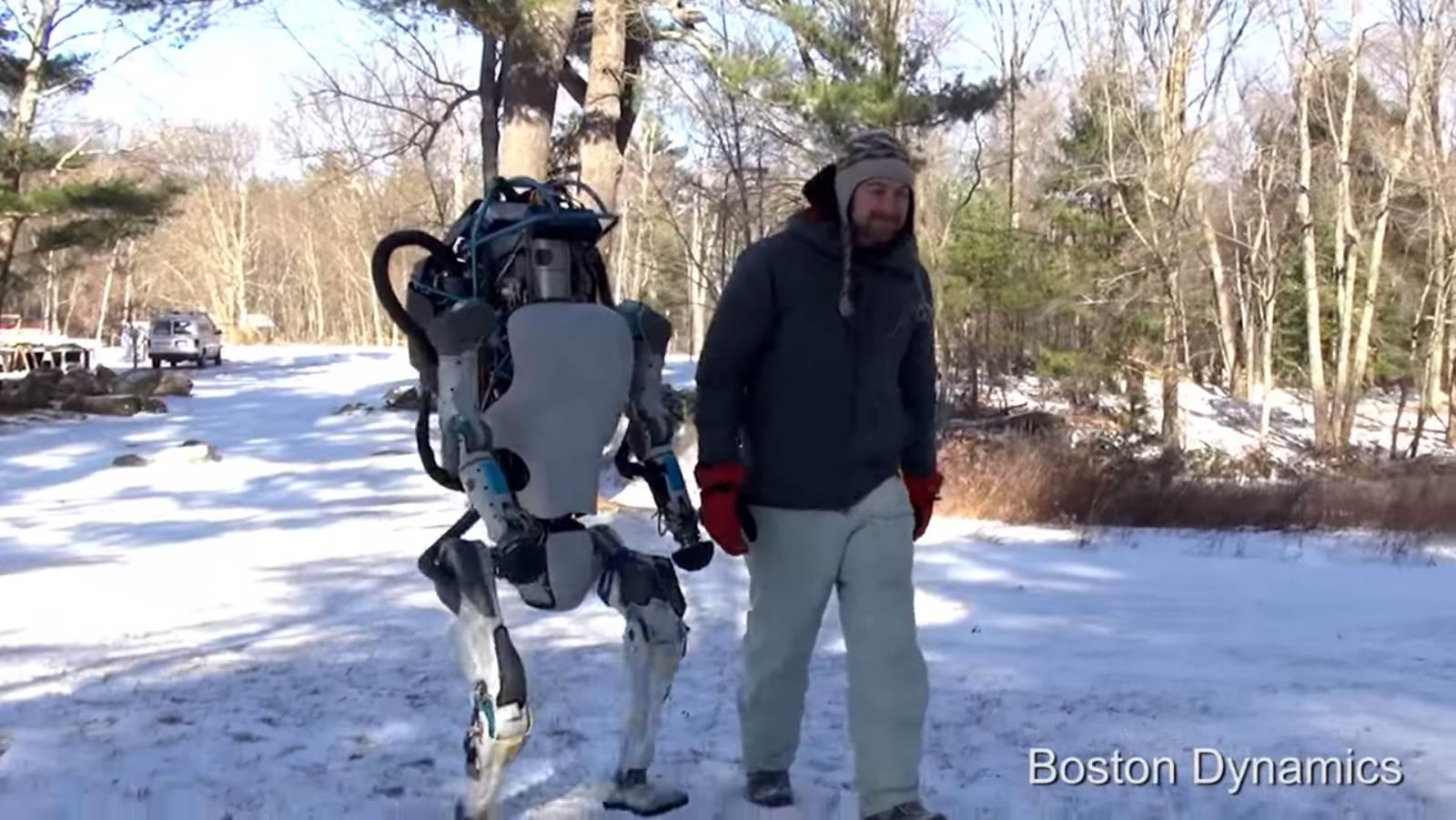 [Vídeo] A nova geração de robôs antropomórficos
