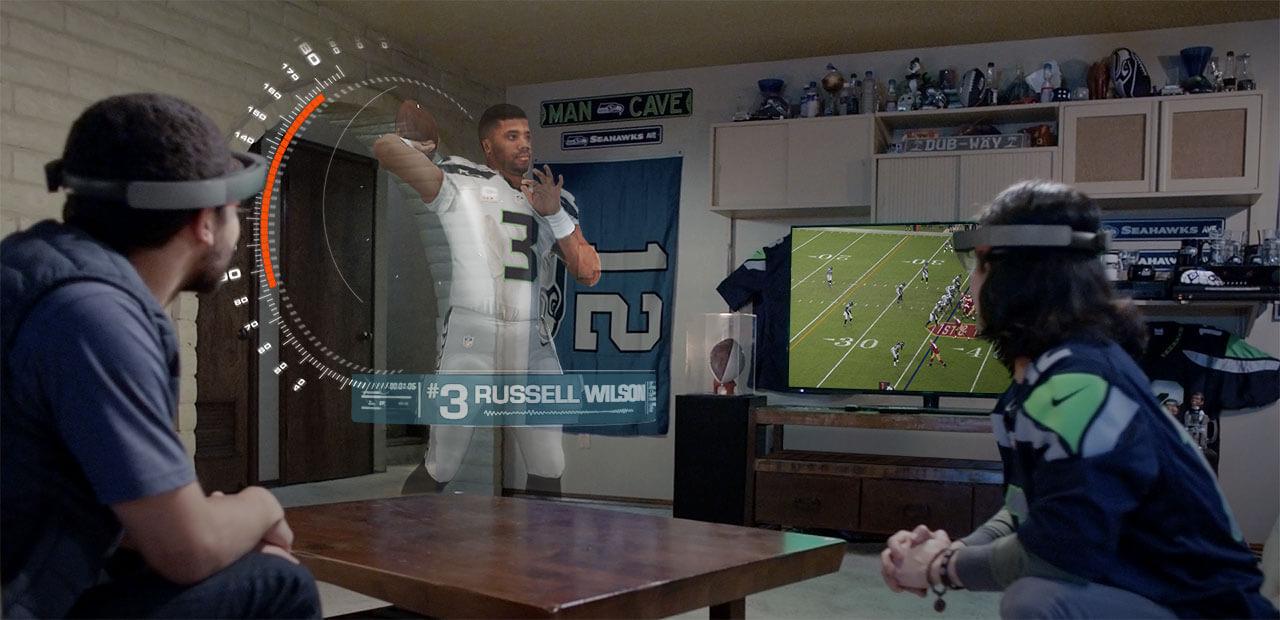 Como será assistir jogos em sua casa com a Realidade Aumentada