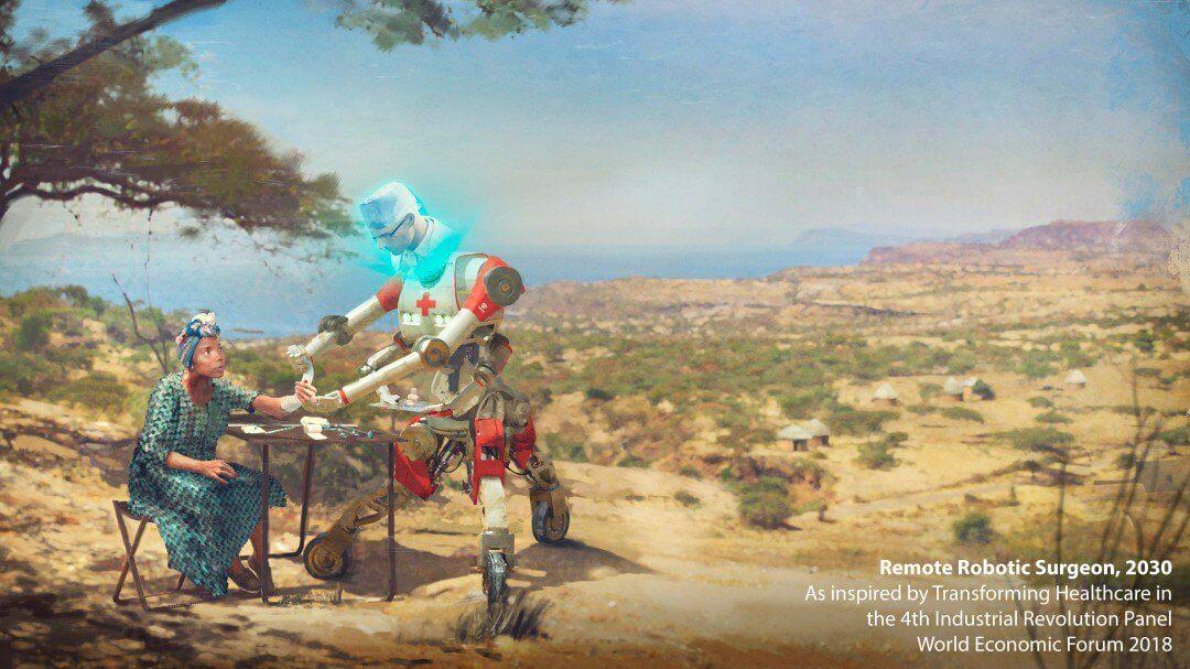 O futuro do trabalho em 2030 imaginado por artistas